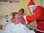 Egyesületünk Mikulása a berettyóújfalui Gróf Tisza István Kórház gyermekosztályán járt